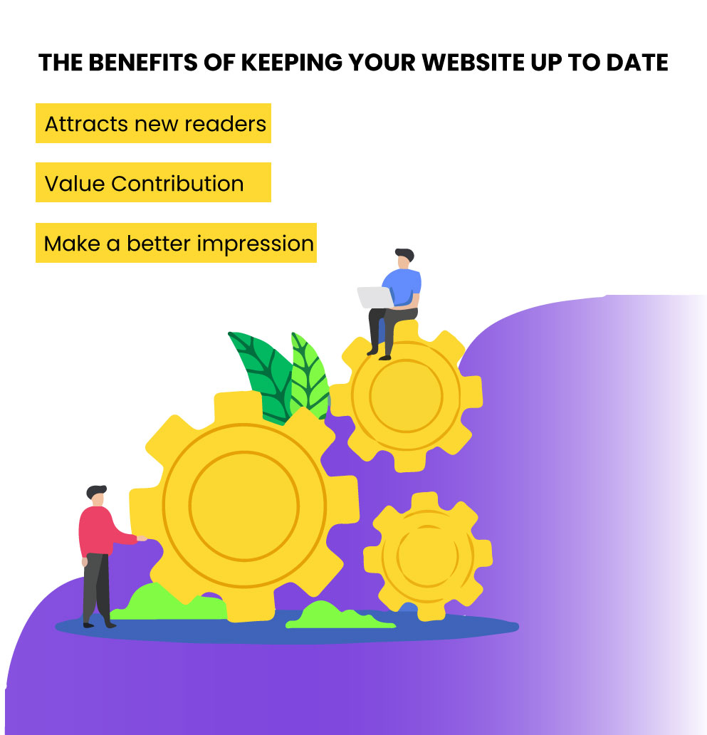 the benefits of keeping your website up-to-date