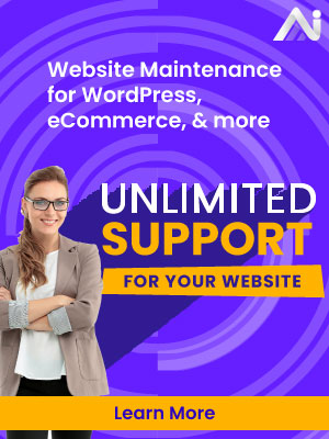 Unlimited Website Maintenance & Support